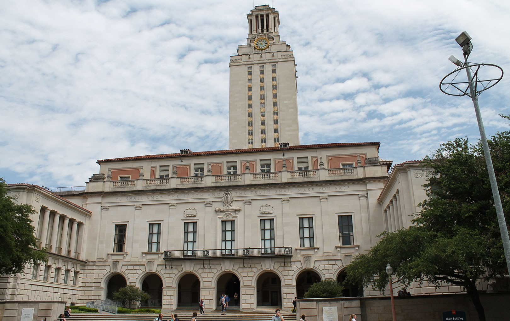 The Main Building at The University of Texas at Austin
